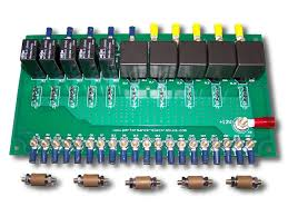 race car relay board high power circuits 20 40 amp racing relay board