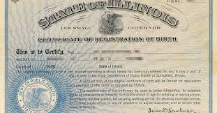 How To Make A Birth Certificate Fact Check Illinois Single Mother Birth Certificate Controversy