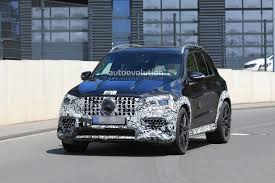 2020 mercedes amg gle 63 looks chunky with less camouflage