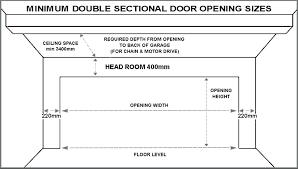 average garage height garage door typical two car dimensions the average garage height australia