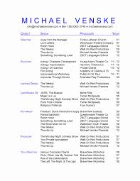 Acting Resume Template Unique What Makes A Good Essay Monash
