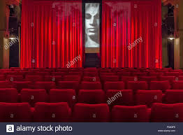 cinema room stock photos cinema room stock images alamy view of red chairs at apollo studio in linden hannover stock image