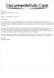 Complaint Format Sample Complaint Letter Format to Land Lord DocumentsHubCom 62