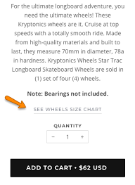 Size Charts Example Of Custom Size Charts Based On Product
