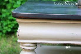 coffee table distressed vintage look annie sloan by cloverpainted 11900 chalk paint coco color one drawer dark wax clear wax 2 knobs ascp chalk paint coffee table