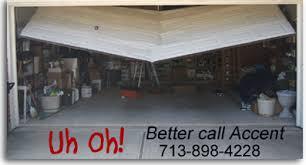 garage door will not openAccent Garage Doors  Garage Door Repair  Serving Brazoria County