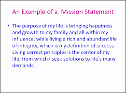 Mission Statement Example 15 Examples Of A Mission Statement Payroll Slip