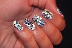 kelsie's nail files: INAD: Leadlight Nail Art