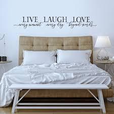 live laugh love bedroom wall decor