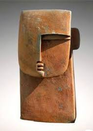 google modern office sculpture. figurative ceramic sculpture peter hayes large head google modern office
