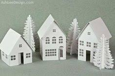 10 Christmas Village Svg Ideas Christmas Village Christmas Villages Glitter Houses
