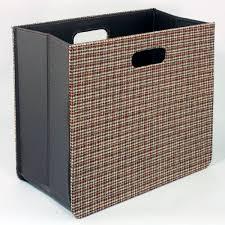 Fabric Magazine Holder Tweed Fabric Folding Magazine Rack 89