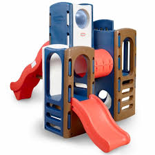 little tikes playground blue and red