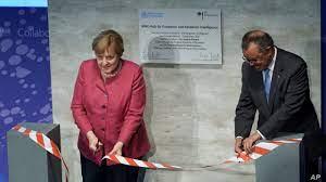 Merkel Open Global Pandemic Hub ...