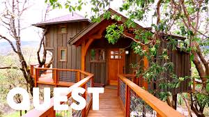 treehouse masters. Amazing Mountain View Treehouse | Masters