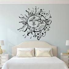wall art marvellous wall art ideas for bedroom bedroom art paintings sun and moon wall