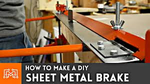 How to make a <b>DIY sheet</b> metal brake - YouTube