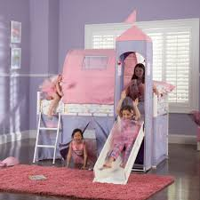 Princess Castle Bedroom Furniture Twin Size Bed Tent Powell Princess Castle Twin Size Tent Bunk Bed