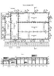 Архитектура промышленных зданий Материалы студентов Курсовой проект Ивановой Екатерины План и 2 разреза