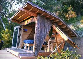 tiny house with garage. Big Sur Tiny Timber House With Garage M