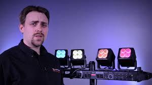 Yorkville Led Lights For Sale Yorkville Lp Led4x Led Lighting System Product Demonstration