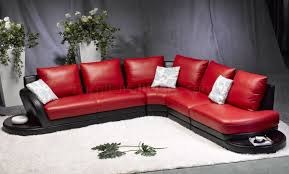 modern red leather sofa red black leather modern two tone sectional sofa black leather sofa perfect