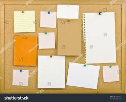 Cork Bulletin Board Cork Bulletin Board Notes Stock Photo 61898752 Shutterstock