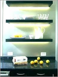 floating shelves with lights shelf lighting light built in diy led li