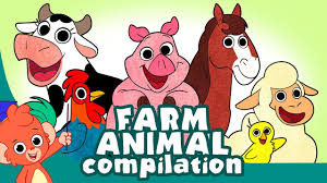 Learn <b>Farm</b> Animals for Kids | <b>Barnyard</b> Animal <b>Cartoon</b> Best ...