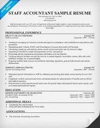 Accountant Resume Sample Accounting Resumes Examples Staff Accountant Resume Sample Resume 56