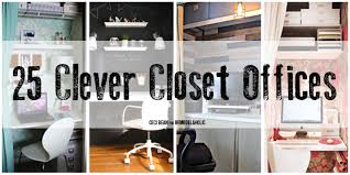 office in a closet design. Office In A Closet Design T