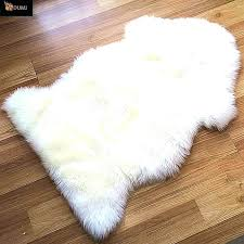 real fur rug white fur rug faux furry small grey rugs full size of target accent real fur rug