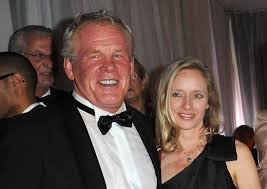 Nick Nolte with fun, Wife Clytie Lane