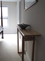 skinny console table. Thin Console Table Wood Skinny A