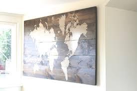 46 ideas of wall art maps inspiration of world map metal wall art