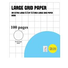 Grapg Paper Large Grid Paper One Inch Grids Large Grid Paper One Inch Grids A Graph Book Containing 100 Pages Of 1 Inch Graph Paper Paperback