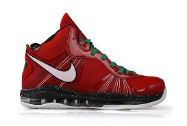 lebron 8 shoes. nike air max lebron 8 v2 christmas edition red lebron shoes