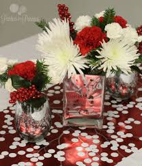 red and silver table decorations. Large Size Of Dining Room: White Christmas Table Decorations Ideas For Room Silver Red And