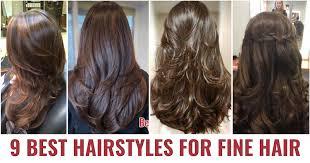 9 best haircuts for thin fine hair