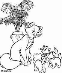 1000 plus free coloring pages for kids to enjoy the fun of coloring including disney movie coloring pictures and kids favorite cartoon characters. The Aristocats Free Printable Coloring Pages For Kids