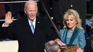 โจ ไบเดน สาบานตนรับตำแหน่งประธานาธิบดีคนที่ 46 ของสหรัฐฯ แล้ว