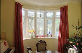full size of decor how to hang curtains in bay window curved window curtain rod