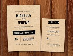 elegant diy wedding invitation templates or free wedding invitation and template for rustic paper invitations 15