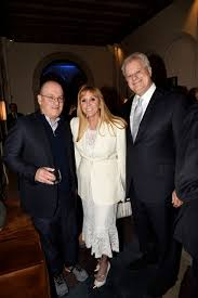 Steve Cohen, with Iris and Michael Smith – East Hampton