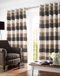 awesome black and cream striped curtains red striped curtains cream brown gray curtain