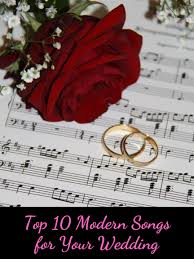 An acoustic duo or soloist can pick out the romance of any song, so it doesn't matter if you want to walk down the aisle to metallica or leave the ceremony bouncing along with beyoncé, an acoustic song will. Top 10 Contemporary Wedding Songs For Your Ceremony Holidappy