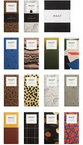 Love these chocolate packaging patterns - graphic design inspiration for  product branding.
