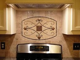 Decorating Brown Marble Kitchen Backsplash Tile Featuring Varnished Adorable Wood Stove Backsplash Exterior