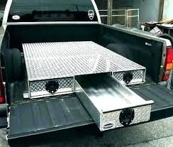 Storage Box For Pickup Truck Beds Lockable Truck Bed Storage Tool ...