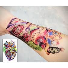 199 Kotva Projít Vám Srdce Tetování Samolepek Dočasné Tetování 1 Ks